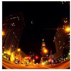 16th street clock tower Denver, Colorado