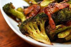 Roasted Broccoli & Bacon Recipe
