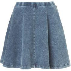Petite Skater Skirt ($40) ❤ liked on Polyvore
