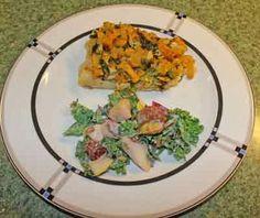 healthy meals, healthi meal, long garden, kale salad