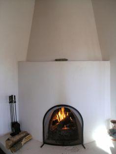 fireplace. spanish