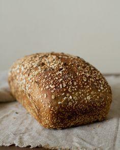 Whole wheat pan bread