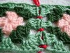▶ Simple & Sensational™ - #2 Join Granny Squares with Chain Seam & Single Crochet Seam - YouTube
