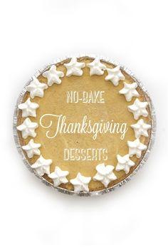 3 EASY No-Bake Thanksgiving Dessert Recipes from the @Debbie Brookshire Goodner Housekeeping Magazine Test Kitchen!