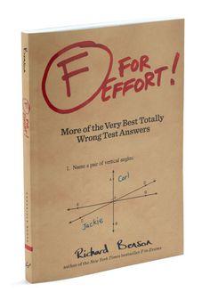 F For Effort!, #ModCloth