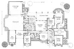 Amazing master suite with huge walk-in closet & second floor play room with a deck!! - Plan 036D-0106 | houseplansandmore.com