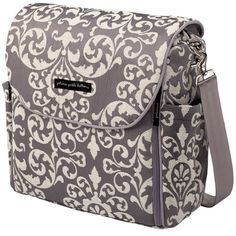 Cathy's Pick: Petunia Pickle Bottom Earl Grey Boxy Backpack from PoshTots