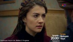 Muhteşem Yüzyıl 116. Bölüm 2. Fragman fotoğrafları (screen captures) - Burcu Özberk (Huri Cihan Sultan)