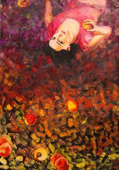 Peach Nirvana by Natalia Baykalova