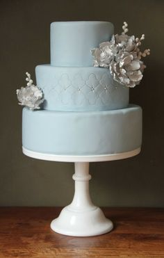 Tiffany Blue #WeddingCake I 550 Events