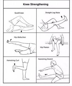 There are great ways to strengthen your knee joints!