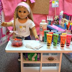 """Looking for a summer of free craft ideas for girls ages 7 and up? Camp Doll Diaries is a blog series brought to you by the creative moms at DollDiaries.com that is free, will inspire creativity all summer long and is perfect for girls who love 18"""" dolls like American Girl, Madame Alexander, Adora, Gotz, Springfield and more! #campdolldiaries"""