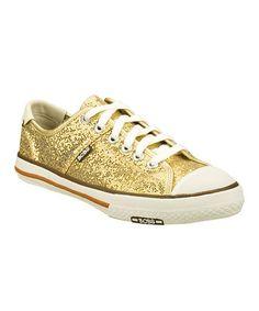 Gold Utopia Beverly Blvd Sneaker