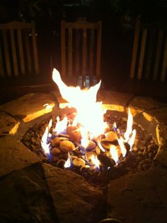 A great place to head after class or a group meeting to enjoy the outdoor fireplaces and continue the discussion!