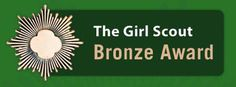 Resources for Girl Scout Juniors considering the pursuit of the Girl Scout Bronze Award.