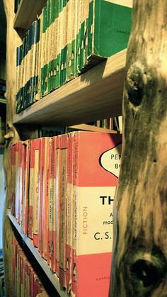 -Could we ever have enough Penguin books?!  -No! That's a silly question!