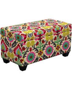 Desert flower santa maria storage bench @Target