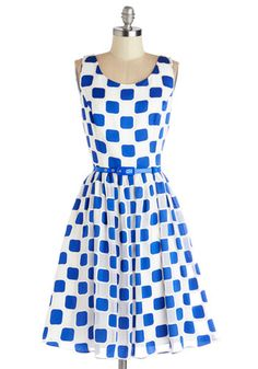 Squaring is Caring Dress, @ModCloth