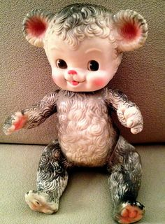 Vintage bear doll