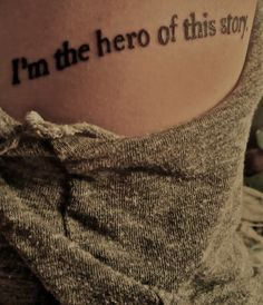 To remind me that this is my life, and my story....