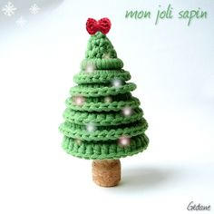 Christmas tree tutorial in French.