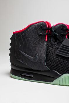 Nike Air Yeezy 2. air yeezi, fashion, air jordans, footwear, castles, nike sneakers, nike air max, shoe, black