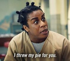 Orange is the new black...suzanne aka crazy eyes!