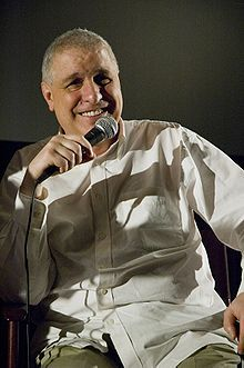 "Errol Morris,  American film director. Won an Academy Award for Best Documentary Feature for his film ""The Fog of War: Eleven Lessons from the Life of Robert S. McNamara""."