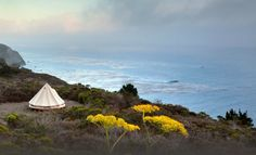 Go-to spots for glamorous Cali camping via @PureWow spots, tents, resorts, camping, big sur, california