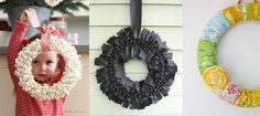popcorn wreath, etc...