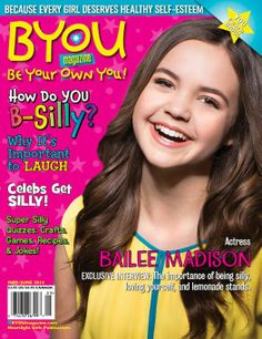 Bailee Madison on the cover of BYOU Magazine