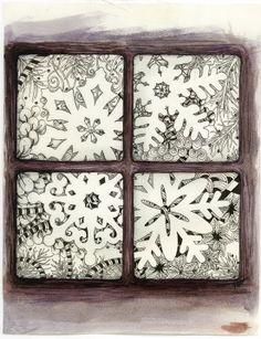 Zentangle: Snowflakes