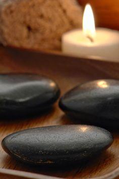 I love a hot stone massage