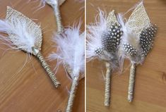 Colors of Honey: DIY boutonnieres