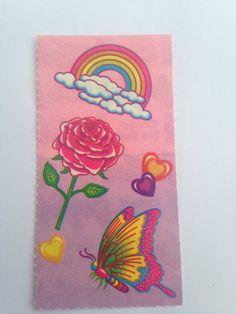 Rare Vintage Lisa Frank Sticker Rainbow by RetroVintageStickers, $4.00