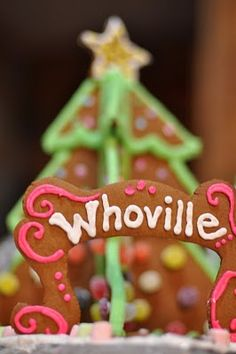 Grinch Who Stole Christmas Gingerbread House!