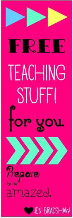 FREE Teaching stuff for your classroom. Lots of reading and organization tools. Perfect for the start of school. #free #teacher