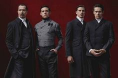 Gary Oldman, Garrett Hedlund, Jamie Bell and Willem Dafoe for Prada, Fall 2012