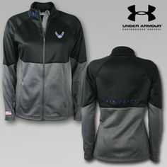 Under Armour Air Force Women's Fleece Jacket, love this!