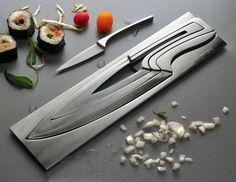 Nested Knife Set.  Looks Cool!