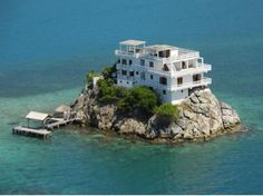 Most People Dream of Owning an Island House..I know I do!