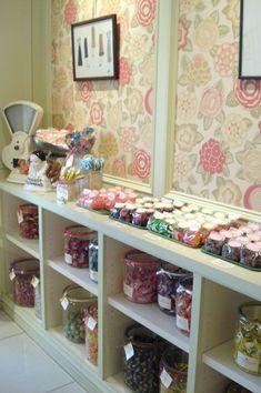Miette - love this wall paper shop, dream, candi