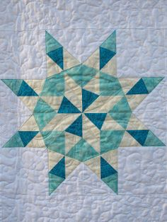 Star quilting by Emma How at Sampaguita Quilts