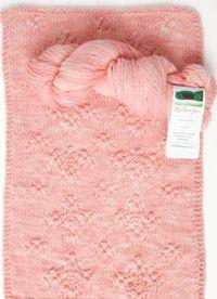Llama Sparkle by Red Barn Yarn - block 11 from Love of Knitting's Year of Yarn, free block knitting pattern
