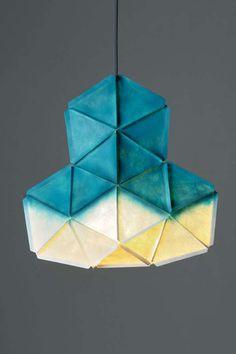 The Glowing KOGI Geometric Lamp Adds Color to Dark Nights trendhunter.com