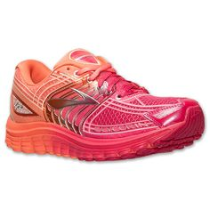 Women's Brooks Glycerin 12 Running Shoes| Finish Line | Orange/Pink Ombre