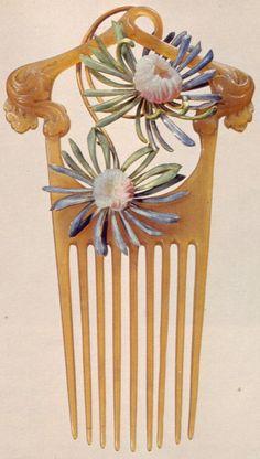 Rene Lalique comb