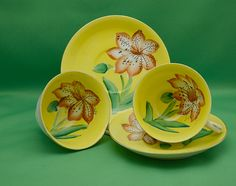 Set of Teacups from occupied Japan