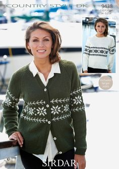 Snowflake Cardigan a