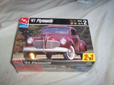 Atm 41 Plymouth by ATM. $12.99. Second generation automobile 41 Plmouth. AMT model